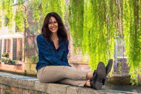 Servizio fotografico per Luana Colussi, conduttrice televisivaeattrice.